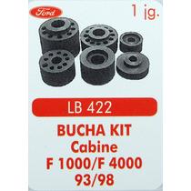 Bucha Kit Coxim Cabine F1000 F4000 93 Até 98