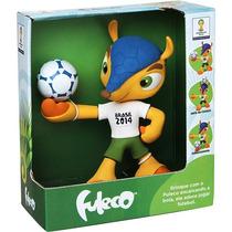 Boneco Fuleco Oficial - Copa Do Mundo Da Fifa 2014