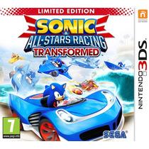 Jogo Sonic All Stars Racing Sonic Corrida Carro Nintendo 3ds