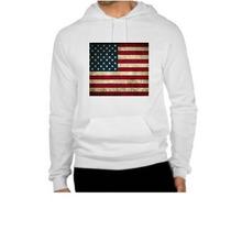 Jaqueta De Moletom Bandeira Estados Unidos - Eua