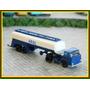 Caminhão Man Carreta Tanque Combustiveis Aral N 1:160 Arnold