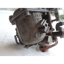 Carburador Fusca Solex Pci30 Com Logo Vw Guardado A Anos