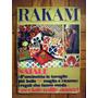 Revista Rakan Italiana 1971. Bordados Patchwork Decoração.