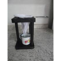 Mini Coador De Café+ Suporte+caneca Nº 5 Artesanato(fp12)