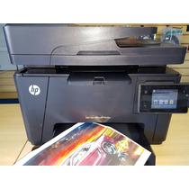 Impressora Laser Color Hp Pro Mfp M117fw Usada Com Toner.