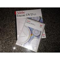 Adobe Encore 1.5 Original-dvd Software E Manual Originais