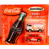 Matchbox Vw Beetle E Kombi Coca Cola - Lacrado