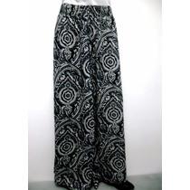 Calça Pantalona Viscose Diversas Estampas