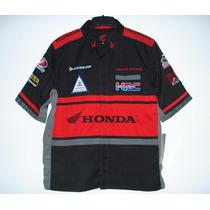 Camisa Moto Gp Equipe Honda Suzuki Yamaha Racing