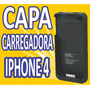 Capa Case Carregadora Iphone 4 4g 4s Apple Bateria Extra
