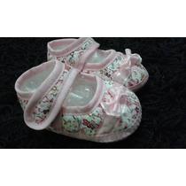 Sapatinho Bebê Maternidade Sapato Rosa Recém Nascido +brinde