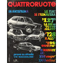 Quattroruote N°182 Fev/1971 Fiat 127 128 Rally 130 Coupe 850