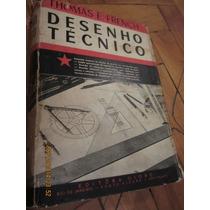 Livro Desenho Técnico - Tomas French (2a Edição, 1955)