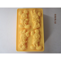 Molde De Silicone/mickey E Minnie,mini Bolos,cake,chocolate,