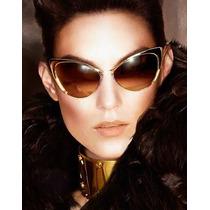 # Óculos De Sol Cat Eye Vintage Retro Estilo Ford Nastasya #
