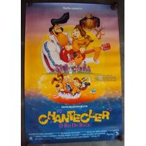 Cartaz Chantecler Rei Do Rock Desenho Poster Filme