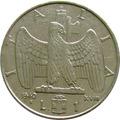 Itália - 1 Lira 1940 (período Fascista)