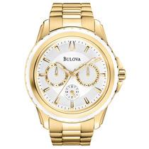 Relógio Bulova Masculino Wb22177h. Analógico E Calendário