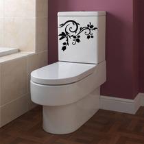 Adesivo Parede Banheiro Porta Box Vaso Assento Sanitário