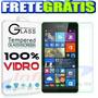 Película Vidro Temperad Nokia Lumia 535 N535 Ant Impact Shoc