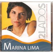 Cd Duplo Marina Lima - 2 Lados O Melhor - Novo***