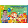 100 Convites Personalizados De Aniversário Infantil, Etc