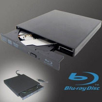 Gravador Blu-ray Usb Externo Portatil 3d Bd-re Bd-dl Cd Dvd