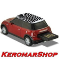 Pen Drive Autodrive Mini Cooper Zebra Vermelho No Leilão