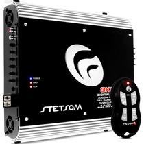 Modulo Stetsom 3k3 4000w Rms + Controle Sx2
