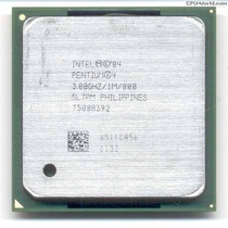 Processador Intel Pentium 4 / 1m Cache / 800mhz / Socket 478