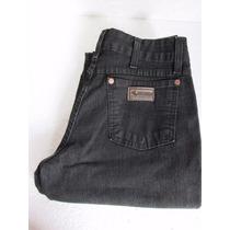 Calça Jeans Feminina Country Horseman,com Lycra, Preta Lisa.