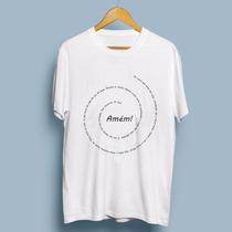 Camiseta Católica - Cristão - Oração Pai Nosso
