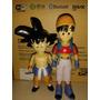 Dragon Ball Z Goku E Namorada Anos 90 80 Raridade 2 Peça