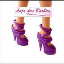 Sapatinho Fashion Para Boneca Barbie * Sapato De Luxo