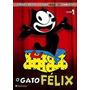 Dvd O Gato Felix Vol 1,2,3,4 Original Lacrado,dri Vendas