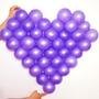 Tela Plástica Em Formato De Coração Para Balões