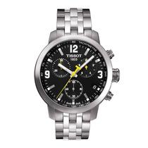 Relógio Tissot Prc200 Modelo Novo Preto Branco E Azul 42mm