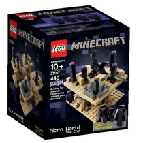 Lego 21107 Minecraft Micro World - The End 440 Peças