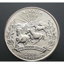 Moedas Estados Unidos Quarter Nevada 2006 Fc