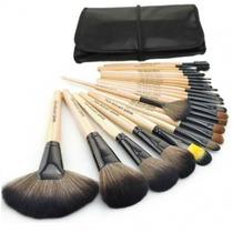 Kit De Pincel Para Maquiagem Com 24 Pçs - Makeup For You !!!