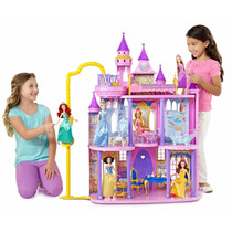 Castelo Encantado Das Princesas Disney- Mattel -3 Andares!!!