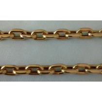 Cordão Modelo Cartier (oco) Cadeado De Ouro 18k 750