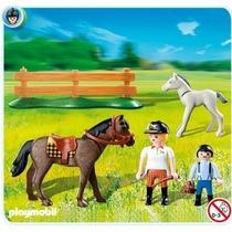 Cavalo Playmobil Hipismo Código 5935