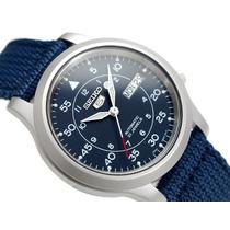 Relógio Seiko 5 Estilo Militar Automático Snk807 Snk807k2