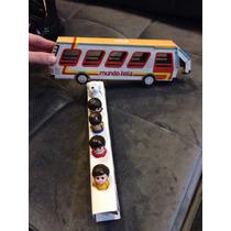 Brinquedo Antigo Raro Ônibus E Bonecos Completo Mundo Feliz