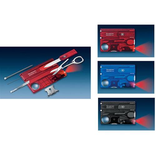 Swisscard Lite 13 Funções - Victorinox - Preta