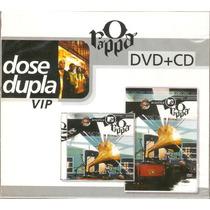 Dvd + Cd O Rappa - Dose Dupla Vip - Novo***
