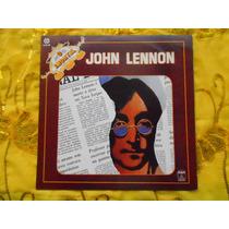 Lp John Lennon P/1983- O Imortal- Coletânea