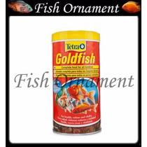 Ração Tetra Gold Fish Flakes 52g Fish Ornament