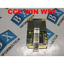 Placa Pci Wireless Cce Win W52
